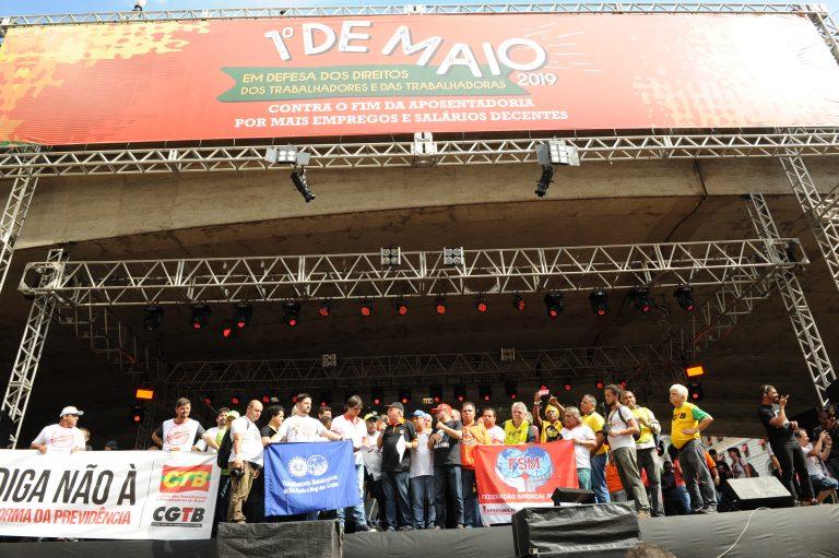 Live do Trabalhador: Centrais Sindicais fazem 1º de Maio unificado na Internet