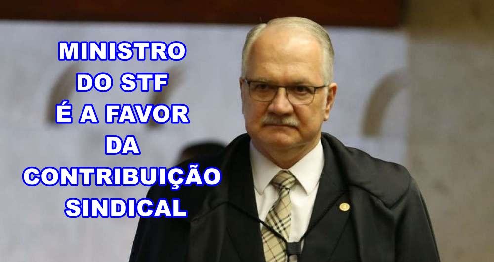 MINISTRO DO STF É FAVORÁVEL A COBRANÇA