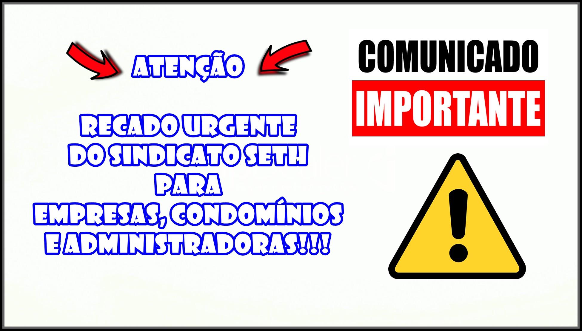 EMPRESAS, CONDOMÍNIOS E ADMINISTRADORAS!!!