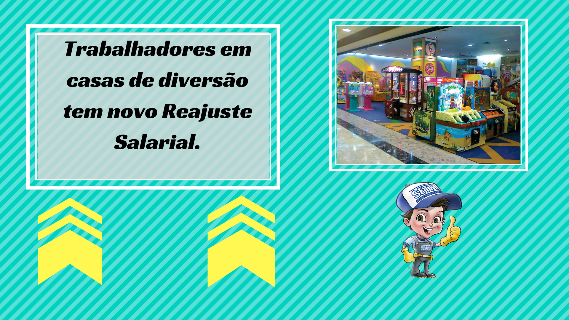 Novo reajuste salarial para a categoria.