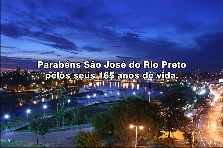 Parabéns São José do Rio Preto