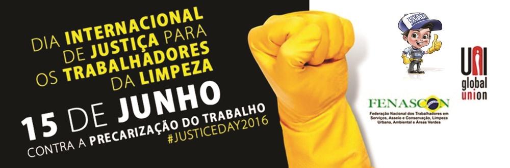 Dia Internacional de Justiça para os trabalhadores da Limpeza