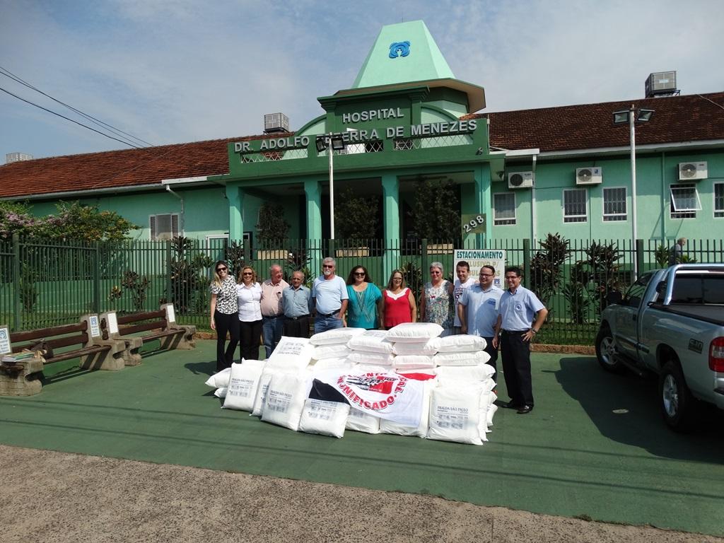 MSU realiza ajuda no Hospital Bezerra de Menezes