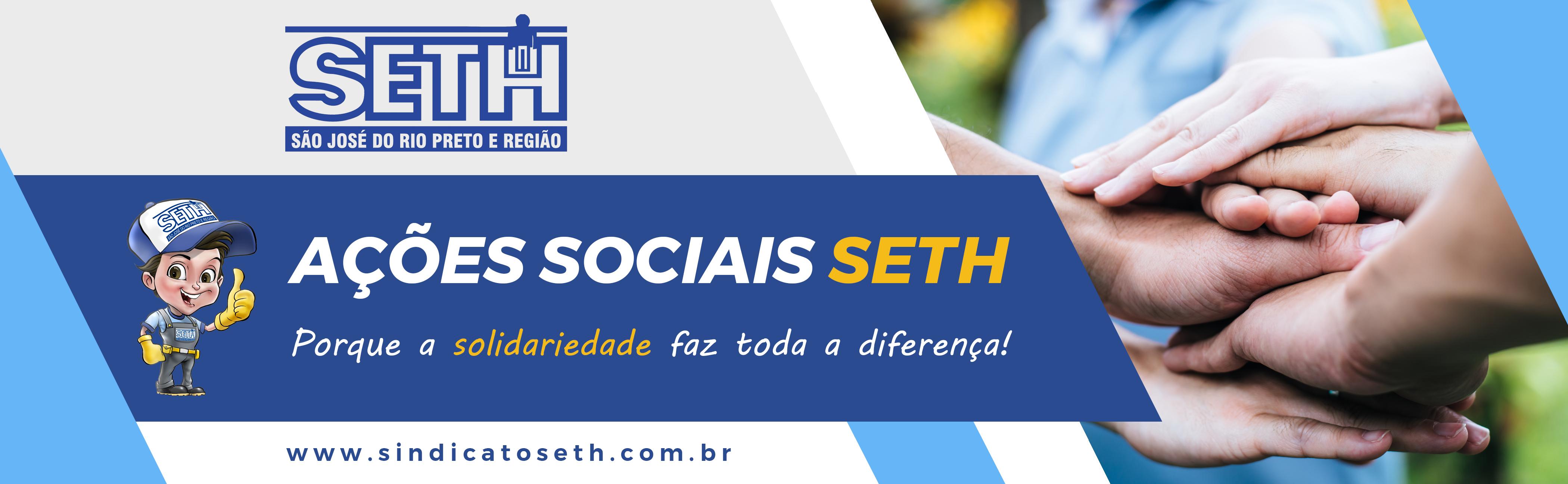 Ações Sociais SETH