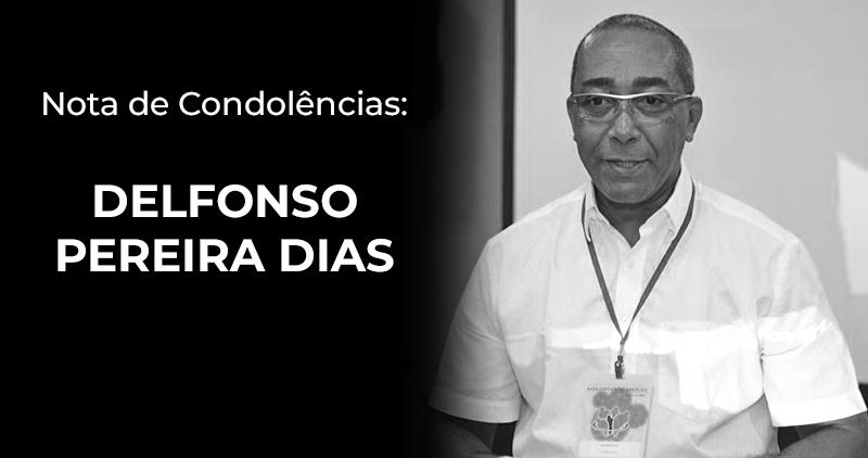 Nota de condolências - Delfonso Pereira Dias